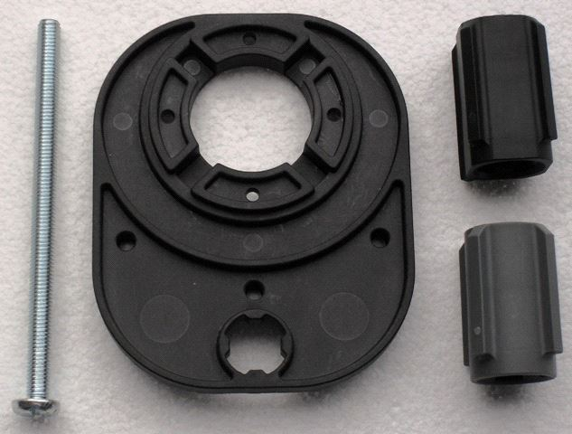 Adapterplate for Esbe shuntventiler