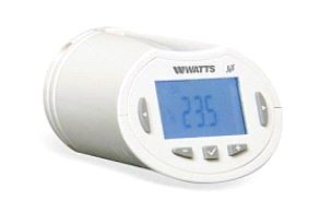 Watts digital termostatratt for radiatorer BT-TH02-RF